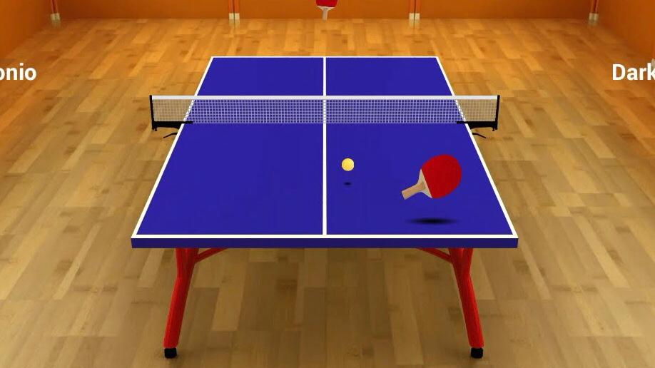 Virtual Table tennis to play on iPhone