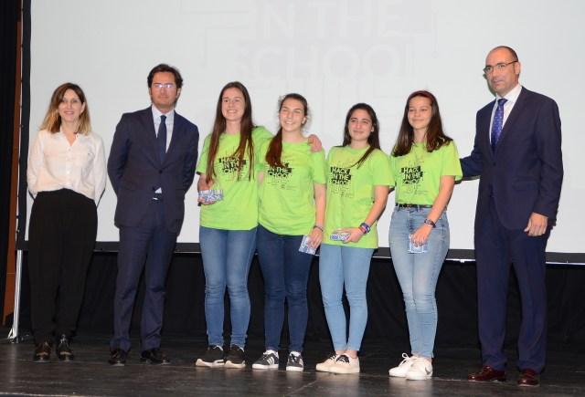 Equipo Holly Shift, ganadoras de Hack in the School 2018