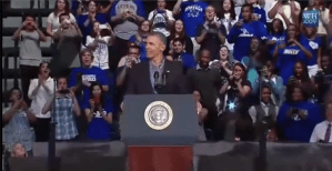 President Obama in Buffalo, NY, discussing his proposed higher education rating system.