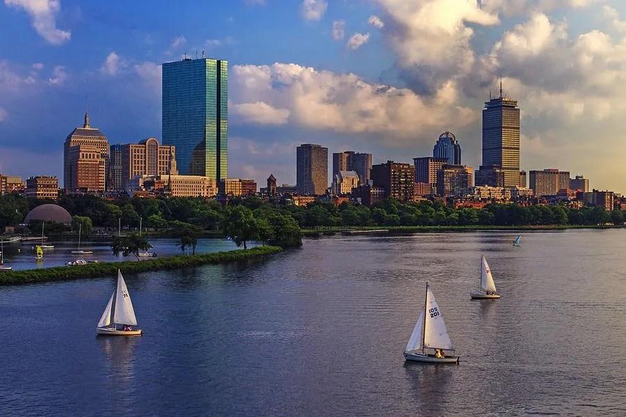 Boston Skyline by Rick Berk