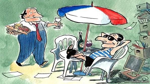 French Worker - Claudio Munoz, The Economist