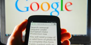 Google sets up data removal webform