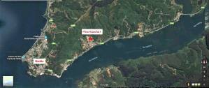 Valdivia Chile Real Estate - Map Location of House in Pino Huacho 1 - Near Niebla and Valdivia