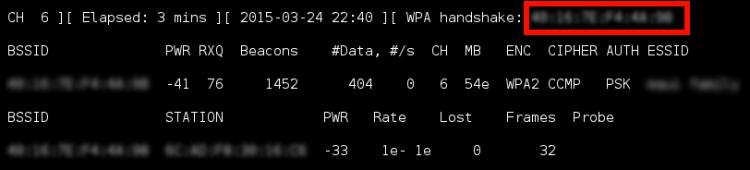 WPA2 handshake
