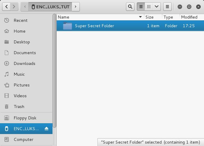 Using LUKS | Hackmethod