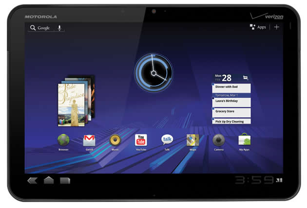 motorola-xoom Android 4.1 Jelly Bean