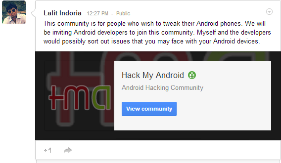 Hack My Android Community