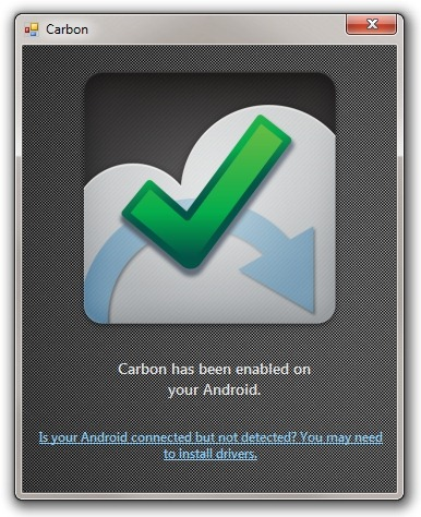 Carbon-Koush-Android-PC