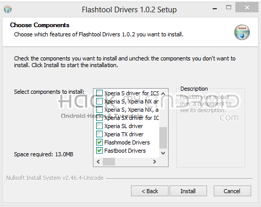 FlashTool Drivers