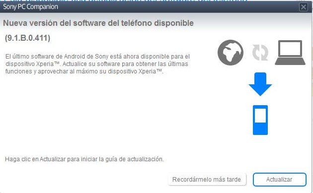 Xperia TX Jelly Bean Update