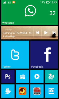 Launcher 8 home