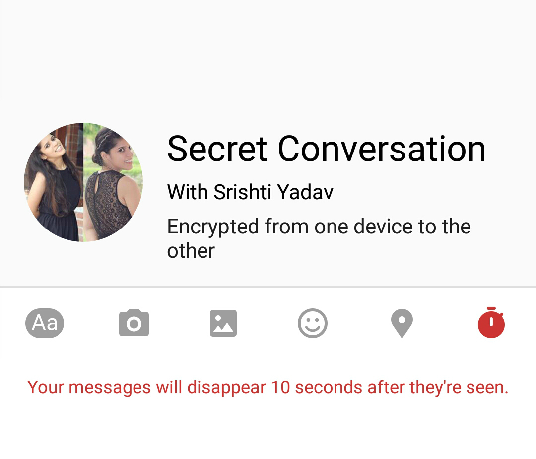 how to send message using messenger