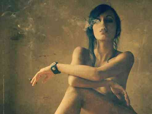 Siccome è corretto per smettere di fumare se è incinta