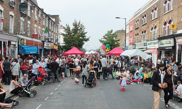 Heaving: the festival attracted over 10,000 visitors last year. Photograph: ChatsFest