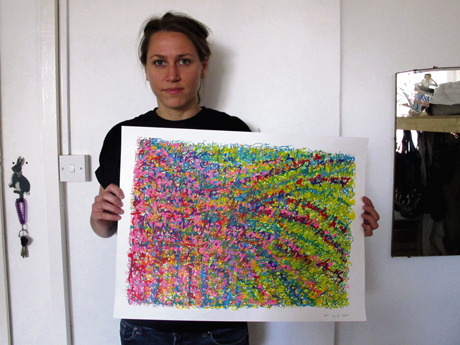 Free expression: art on freecycle