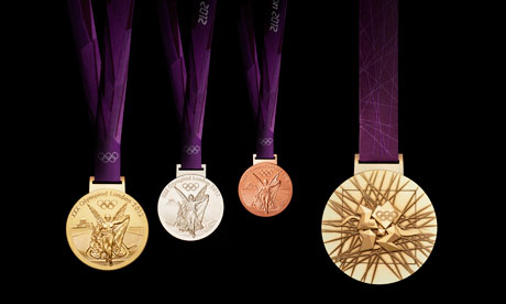 London 2012's Olympic medals