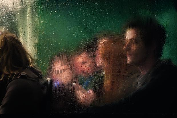 On the Night Bus. Photograph: Nick Turpin