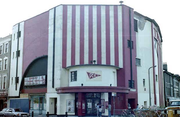 The Rio Cinema in 1985