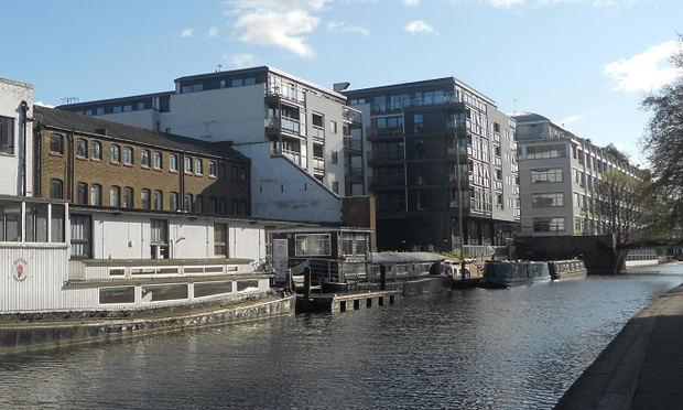 Angel Wharf. Photograph: Friends of Regent's Canal