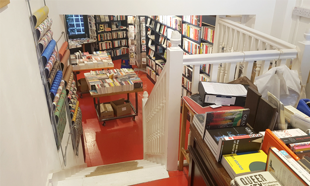 Refurbished: Broadway Bookshop has taken an opportunity to ring the changes