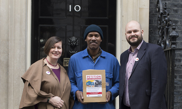 Petition Opposing Business Rates Hike Handed To Downing Street