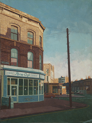 Rene's Café, by Doreen Fletcher (1986)