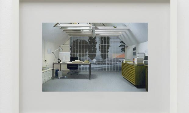 Andrew Grassie's Studio Proposal 5 (2017). © Andrew Grassie, courtesy Maureen Paley, London