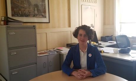 Geffrye Director Sonia Solicari in her office. Photograph: Hackney Citizen