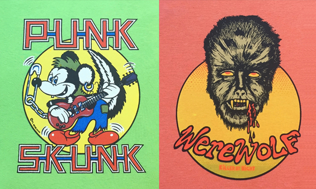 Lurid: some of Let It Gibbon's designs
