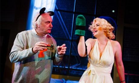 Einstein-a-go-go: Simon Rouse and Alice Bailey Johnson. Photograph: Alex Brenner