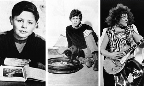 The three ages of Bolan: the T-Rex frontman, pictured in his Hackney youth, adolescence, and his days of megastardom, on stage for ABC's In Concert in 1973