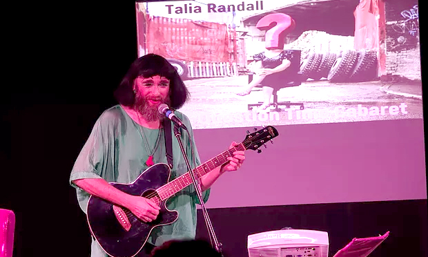 Eco-blues: Timberlina performs at the Peterborough Question Time Cabaret. Photograph: Neil Barker