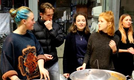 Refugee all stars: volunteers range from all walks of Hackney life