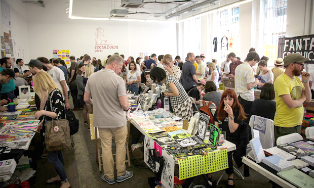 Attendees at last year's Safari Festival filled Protein Studios en masse. Photograph: Breakdown Press.