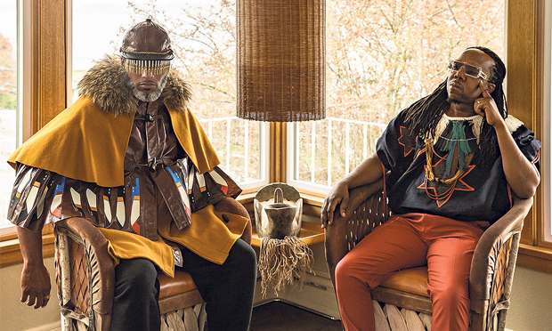 Luxurious: Shabazz Palaces hit Oval Space in November. Photograph: Victoria Kovios