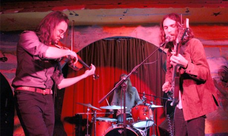Mystics: The Myrrors live at the Shacklewell Arms last Friday 16 February. Photographs: Casey Cooper-Fiske