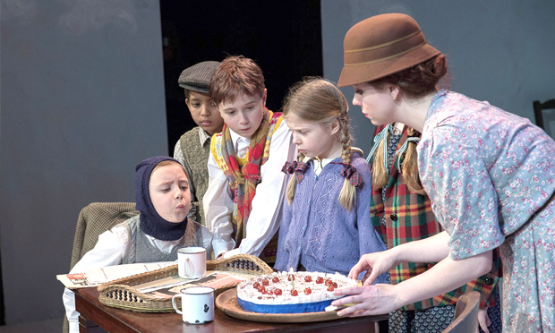 A scene from Tower's Goodnight Mr. Tom, staged in 2013. Photograph: Tower Theatre Company