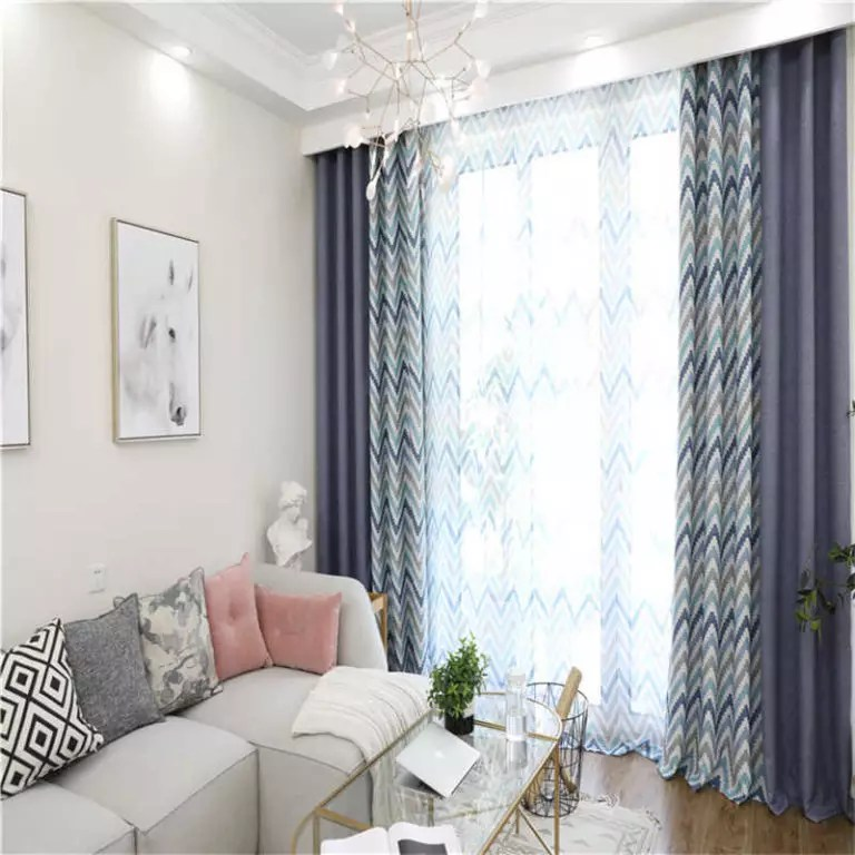 choose curtains for the living room