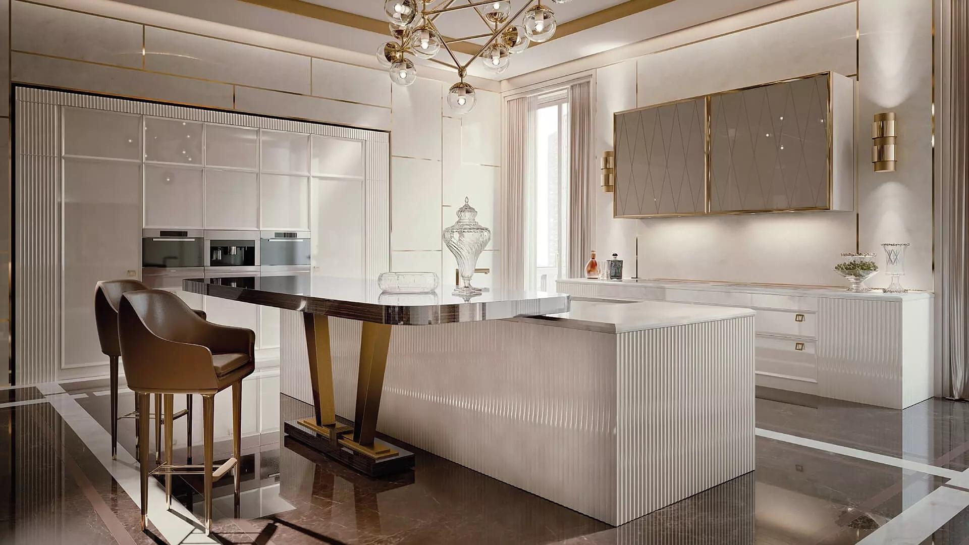 Art Deco Kitchen Design Photos Ideas Products Hackrea