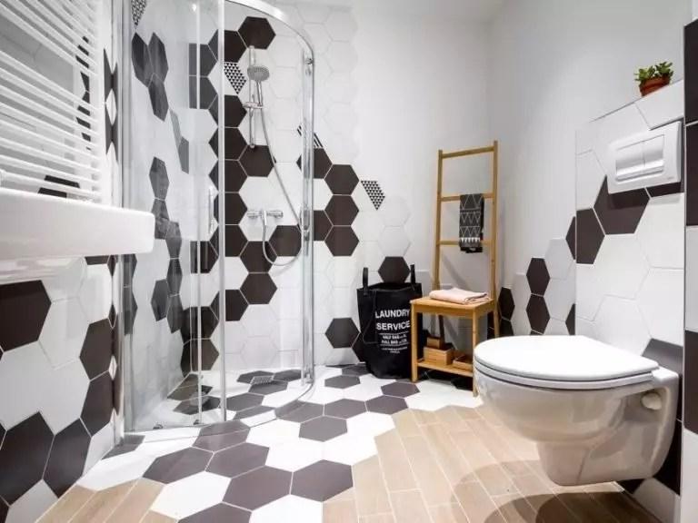 carrelage hexagonal pour le sol et les