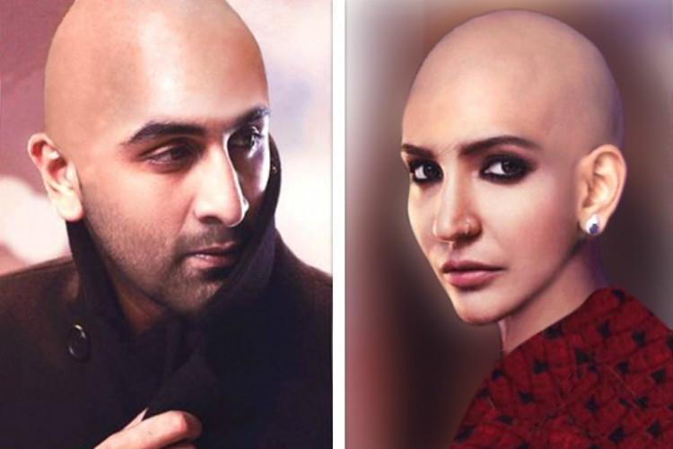 Anushka Sharma Bald