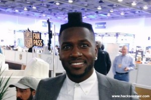 Antonio Brown Haircut might be the worst Haircut you've seen until now🤢
