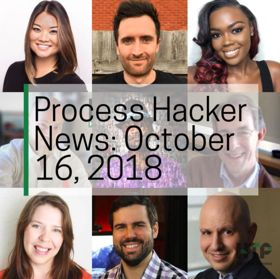 2018-10-16 Process Hacker News – Personalized Marketing, Fear of Failure, Sharp Iron, and More