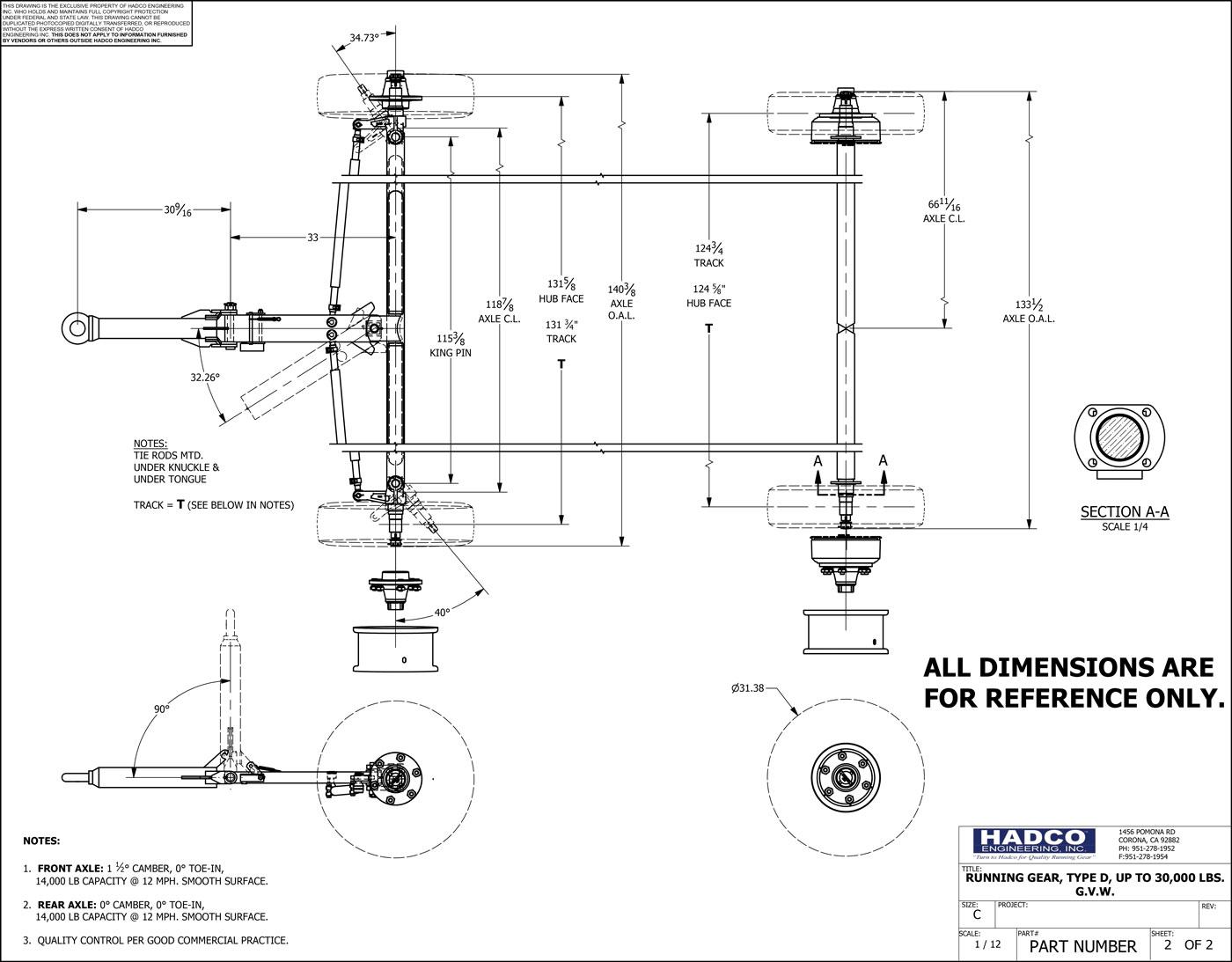 Heavy Duty Running Gear Hadco Engineering