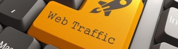 Web traffic button