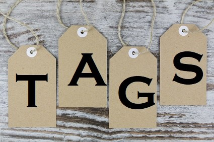 WordPress tags