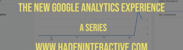 New Google Analytics Experience