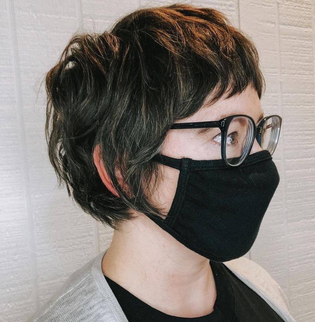 Modern Shaggy Pixie Haircut