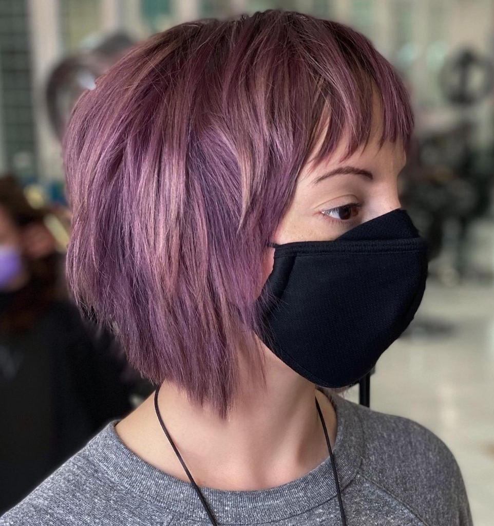 Short Bob Shag Haircut