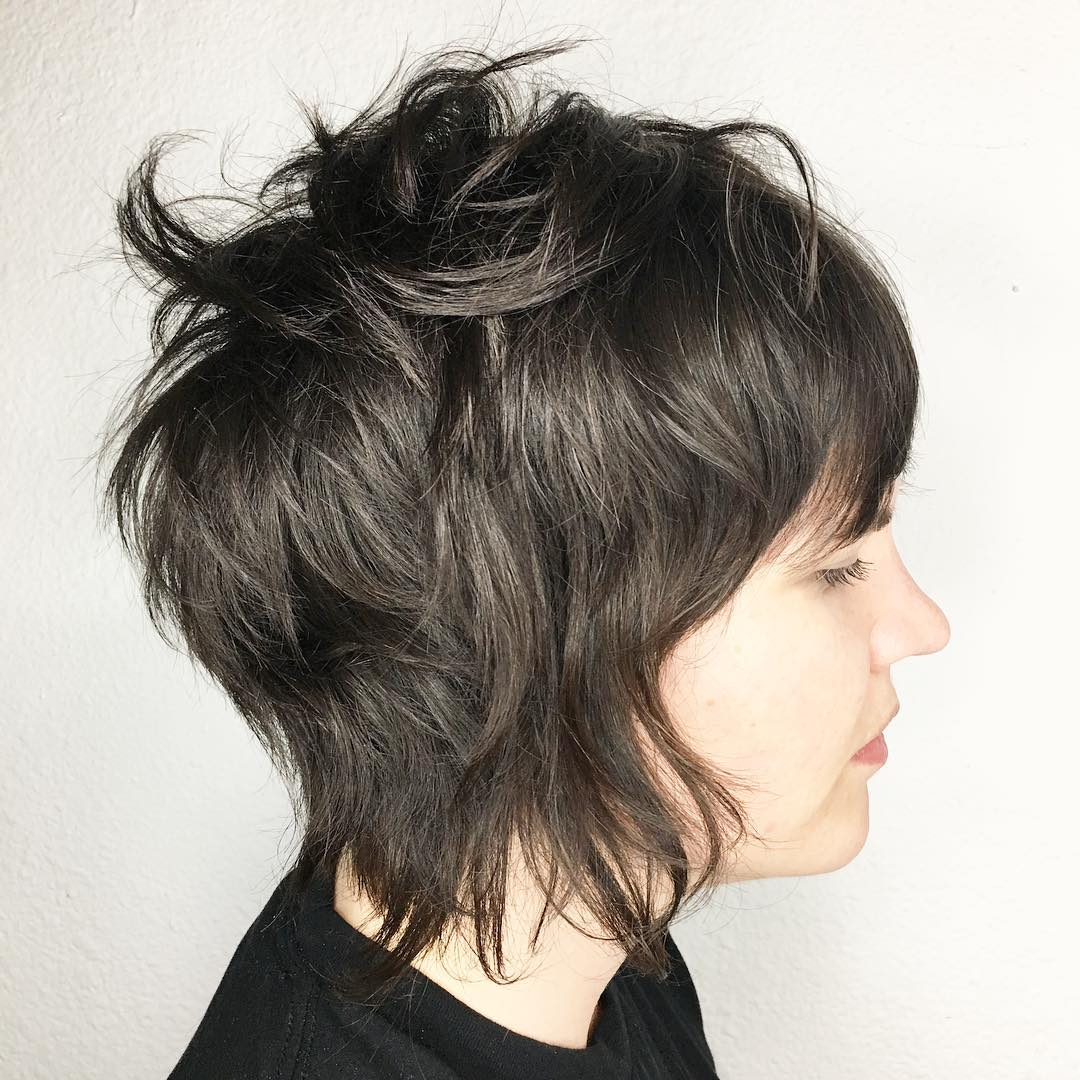Sensational 50 Short Shag Haircuts To Request In 2020 Hair Adviser Natural Hairstyles Runnerswayorg